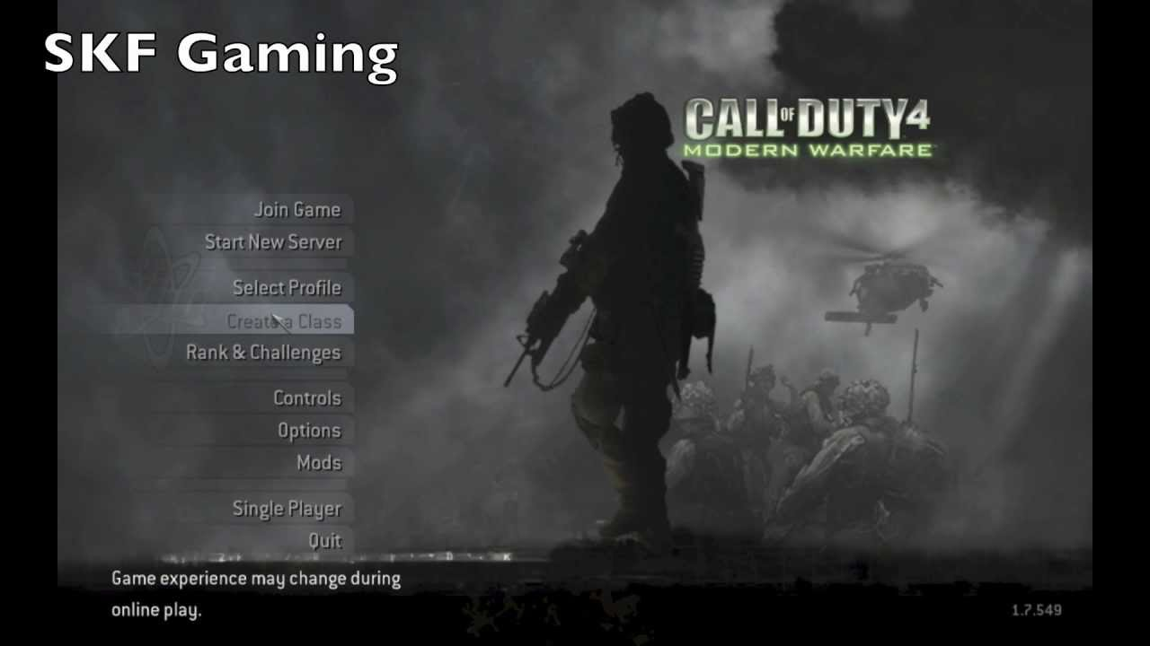 Call Of Duty® 4: Modern Warfare® Download For Mac