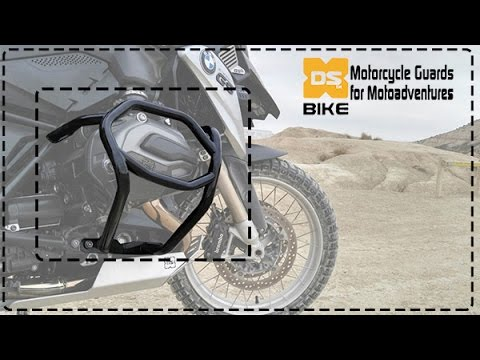 c8fdb60510e Assembly instructions CrashBars to Motorcycle BMW R1200GS until 2012. DS  Bike Protection