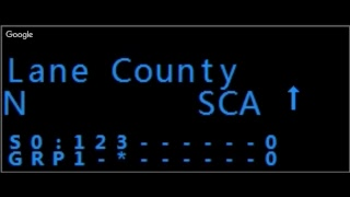 Live police scanner traffic from Douglas county, Oregon.  10/15/2018  8:10 pm