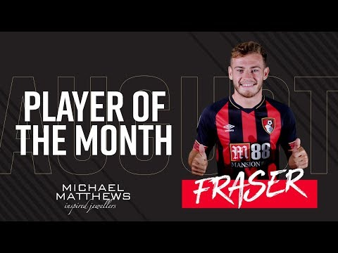 AUGUST PLAYER OF THE MONTH | Ryan Fraser 🏆