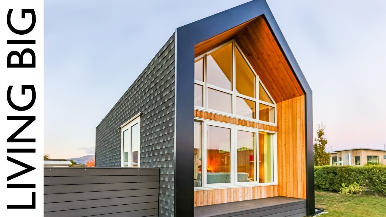Tiny House Concept Adapted Into Amazing Modern Home Youtube