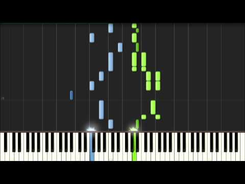 [ Vocaloid ] Megurine Luka - Just Be Friends Piano ver. tutorial (synthesia)
