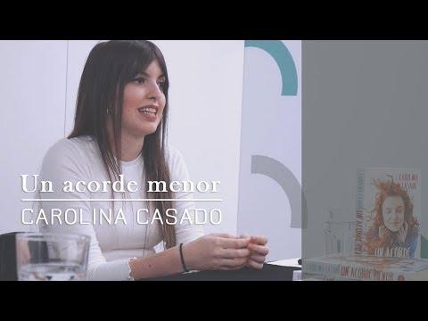 Presentación Un Acorde Menor, De Carolina Casado