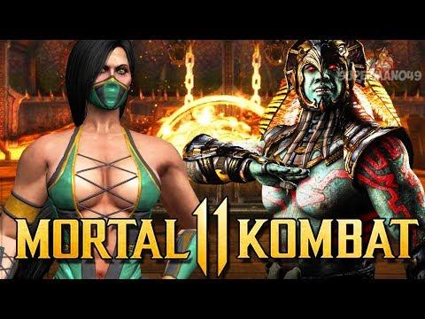 "MORTAL KOMBAT 11: New Leaks JADE, KOTAL KAHN, FROST & MORE! - Mortal Kombat 11 ""Kabal"" Gameplay thumbnail"