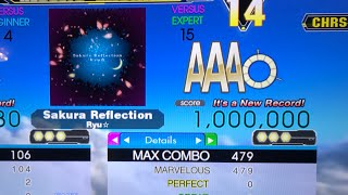 Sakura Reflection Esp 15 Mfc 1 000 000 World Record Ddr Ace