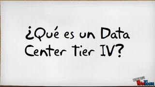 ¿Que es un Data Center Tier IV?