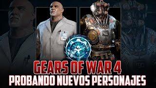 Gears of War 4 | Probando Nuevos Personajes!!