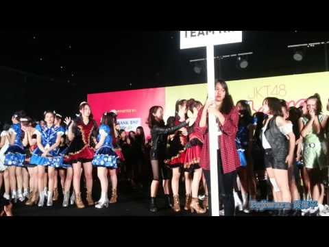 JKT48 - Shuffle announcement HS Maeshika Mukane
