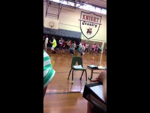 North Davidson middle school cha cha slide