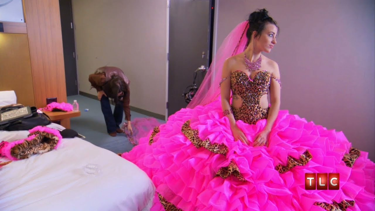 Mellie\'s Wedding Dress | Gypsy Sisters - YouTube