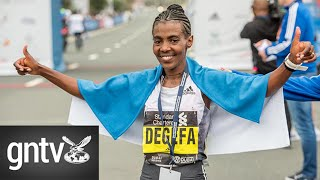 Ethiopian runners emerge winners in Dubai Marathon 2020