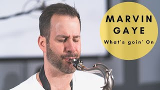 """DNA In the Mix"" DJ & Saxophonist - What's Going On Marvin Gaye (Cover)"