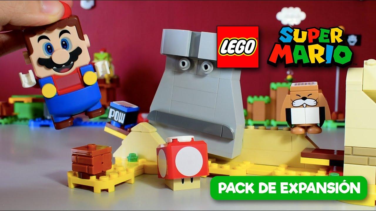 ¡Set de regalo: Topo Monty y Superchampiñón (40414)! | LEGO Super Mario