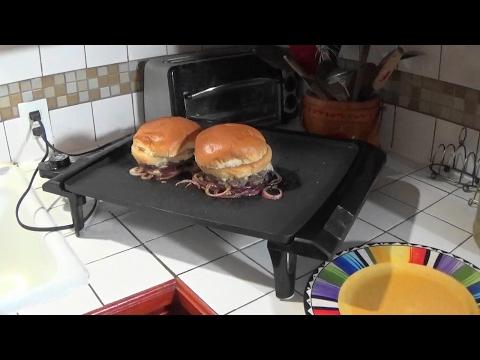 Making Oklahoma Fried Onion Burgers