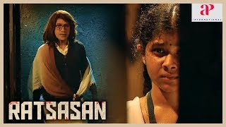 Ratsasan Movie Super Scene | Vishnu Vishal saves Trishala | Culprit escapes | Kaali Venkat