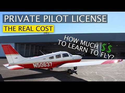 How Much Does It Cost To Get Your Private Pilot License | HOW TO SAVE MONEY
