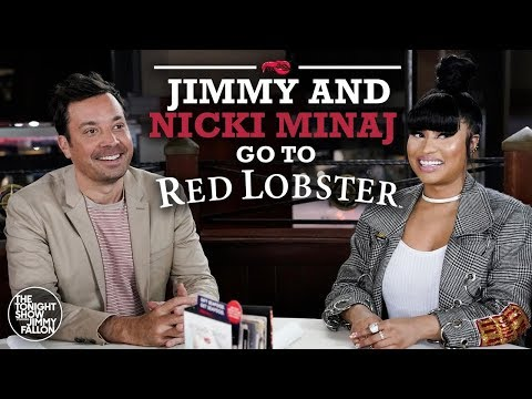 Babysitter - Jimmy and Nikki Minaj go to Red Lobster