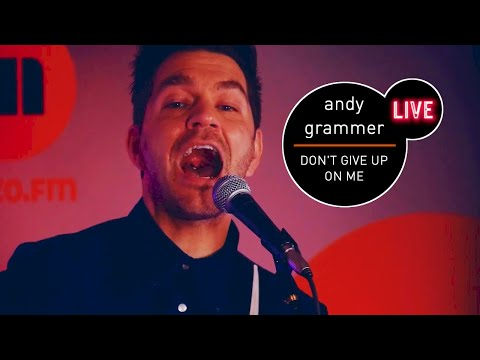 Andy Grammer - Don't Give Up On Me live (MUZO.FM) - Five Feet Apart OST