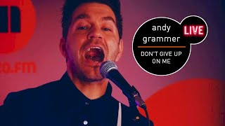 Gambar cover Andy Grammer Dont Give Up On Me live MUZO FM Five Feet Apart OST
