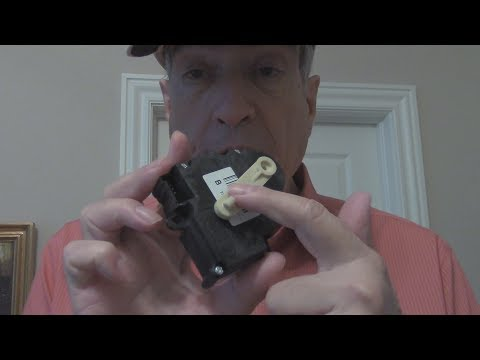 How to replace 1998 Buick LeSabre blend door actuator