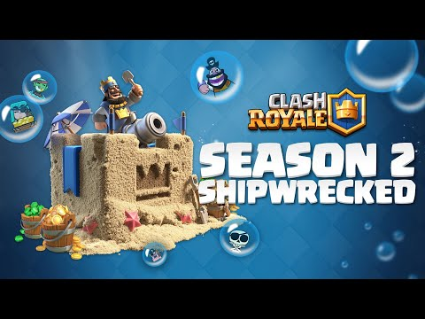 Clash Royale Season 2: Shipwrecked! 🏖️ NEW AUGUST SUMMER UPDATE 😎