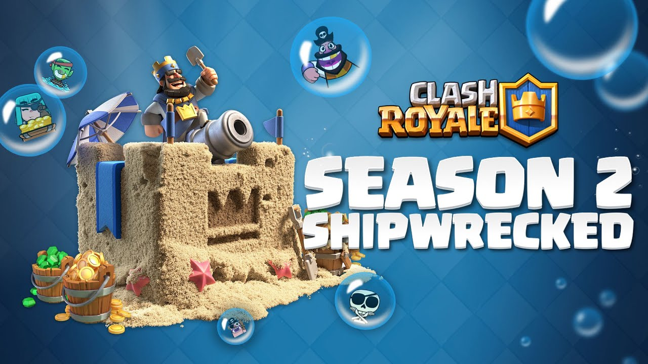 Clash Royale Season 2: Shipwrecked! NEW AUGUST SUMMER UPDATE