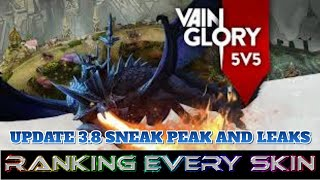 3.8 NEW SKINS AND RANKING EVERY HERO'S SKINS: VAINGLORY 5V5