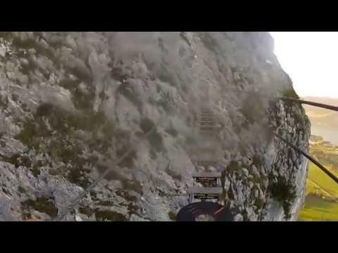 Klettersteig Mondsee : Drachenwand klettersteig mondsee lifetravellerz youtube