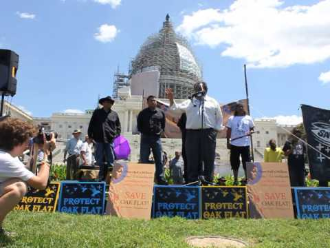 Ranking Member Grijalva Speaks Against the Congressional Giveaway of the Sacred Apache Oak Flat