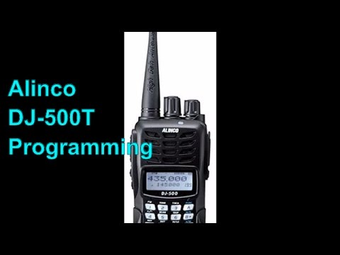 Alinco dj 500t review