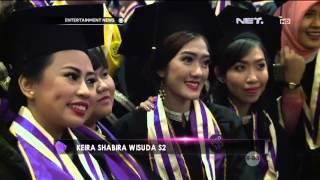 Keira Shabira Jalani Proses Wisuda S2