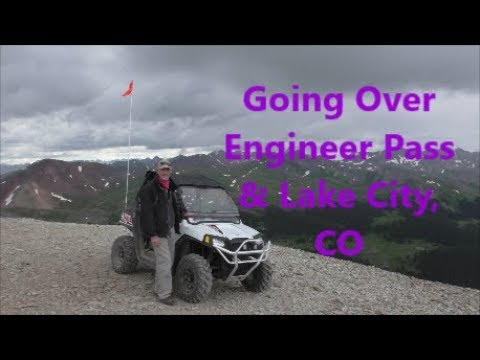 Riding over Engineer pass in Colorado - Episode 30