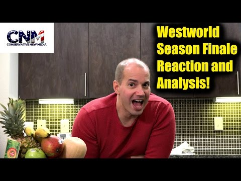 Westworld Season Finale - Crazy and Amazing! - Reaction and Analysis in 4K by John D. Villarreal