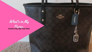Whats In my Bag? Coach Tote