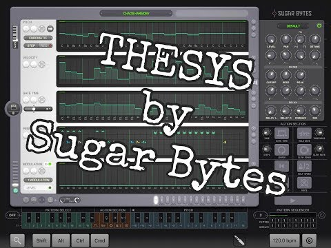 Thesys by Sugar Bytes ON SALE Quick Play Demo for the iPad