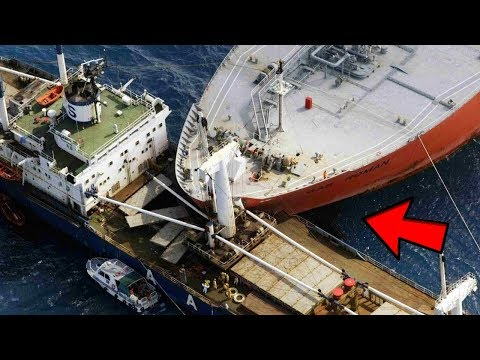5 Shocking Ship Crashes Caught on Camera & Spotted in Real Life