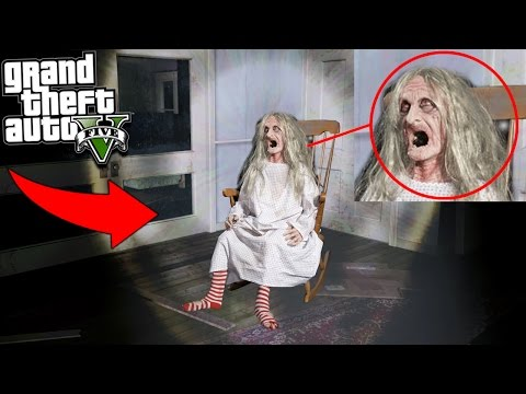 "GTA 5 EVIL WITCH ""We Found Her House"" 😱 (Scary)"