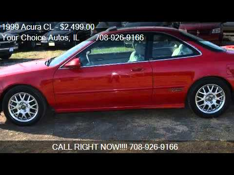 Acura CL CL For Sale In Posen IL YouTube - Acura cl for sale