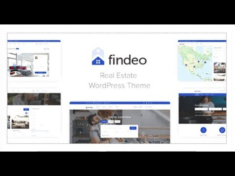 Findeo - Real Estate WordPress Theme | Themeforest Download - YouTube