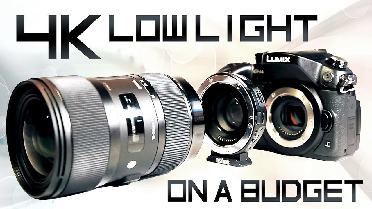 GH4 + Speedbooster + Sigma 18-35 [The ultimate combination]? - YouTube