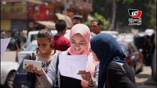 طلاب الثانوية عن الجبر والهندسة: الامتحان طويل ومفيش وقت للمراجعة