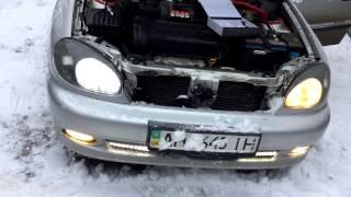 Как установит Led лампы на автомобиль