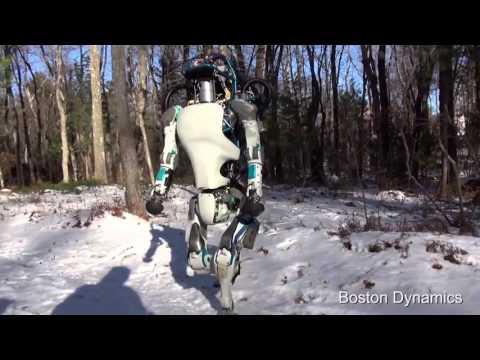 Миролюбивый робот грузчик