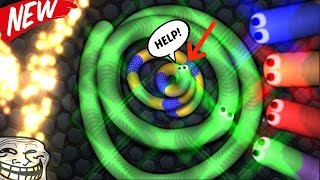 """Slither.io TROLLING """" SURROUND ME """" Score 83K / DESTROYING CIRCLE OF DEATH"""