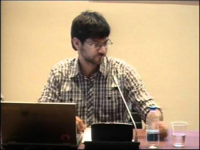 Conferencia del profesor Jorge Marco - Homenaje a los hermanos Quero - Granada, 01/06/2012