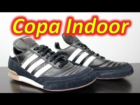 info for f5808 4b841 Adidas Mundial Goal Indoor Black White - UNBOXING - YouTube