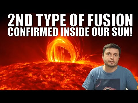 Detection of a 2nd Type of Nuclear Fusion Inside the Sun