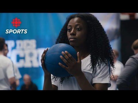 RBC Training Ground Web Extra: Tania Bambi Leaps To A Win | CBC Sports