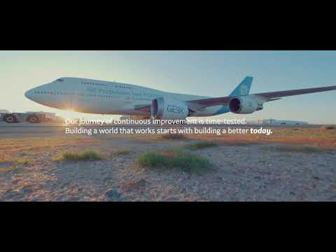 At GE Aviation, we see a more sustainable future