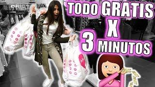 ¡3 MINUTOS para COMPRAR lo que sea GRATIS! - Fatima Palacios